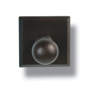 Heritage  Robe Hook - Square Plate Product Image