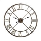 Open Centre Iron Wall Clock. Product Image