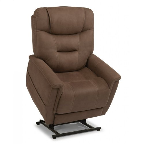 Shaw Fabric Power Lift Recliner with Power Headrest