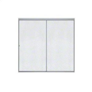 Standard Sliding Bath Door - Soft Silver Product Image
