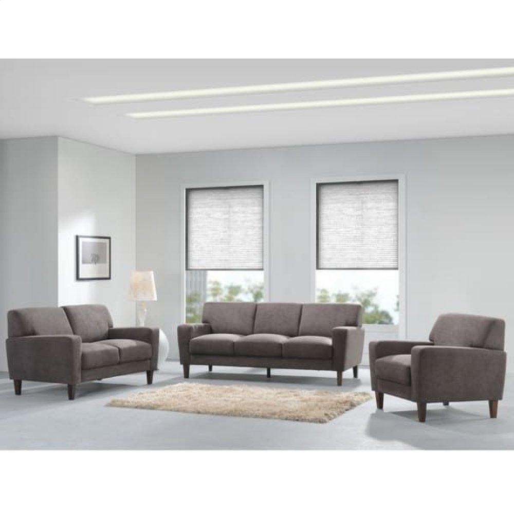 Evan Chocolate Sofa, Love, Chair, SWU8130