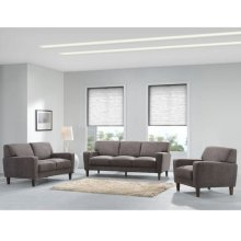 Evan Chocolate Sofa, Love, Chair, SWU8130