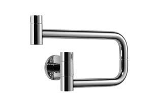 POT FILLER Cold water valve - matt platinum