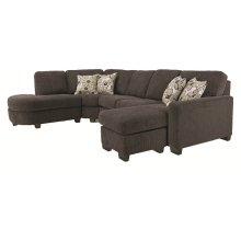 Sofa (3 seat over 3 back)