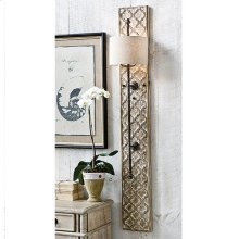 Carved Panel Sconce