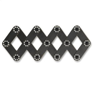 Metal Wall Hooks With Decorative Knobs Product Image