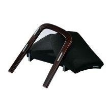 Mahogany Finish Modular Single Add-on Kit (black Triangle)