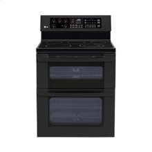 6.7 cu. ft. Capacity Electric Double Oven Range with a 6 High Upper Oven