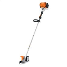A professional, straight-shaft edger powered by a proven low-emission engine.