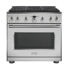 "Monogram 36"" All Gas Professional Range with 6 Burners (Natural Gas) - AVAILABLE EARLY 2020"