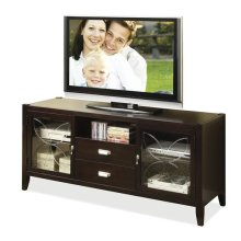 Annandale 60-Inch TV Console Dark Mahogany finish