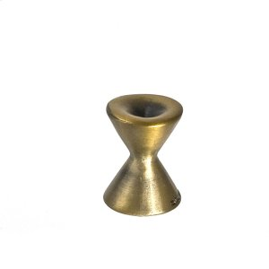 Antique Brass Forged 2 Med Round Knob 7/8 Inch Product Image