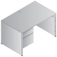 """Metal Desk Left Pedestal 48""""x30"""""""