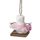 S'mores Ballerina Ornament Product Image