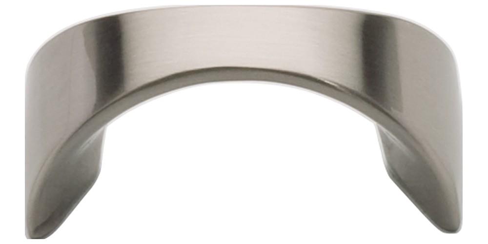 Sleek Knob 1 1/4 Inch (c-c) - Brushed Nickel