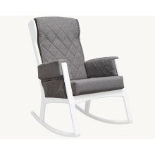 Margot - Dark Grey and White Glider