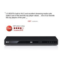 3D-Capable Blu-ray Disc™ Player with Smart TV and Wireless Connectivity