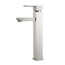 Fulton Single Handle Vessel Faucet - Brushed Nickel