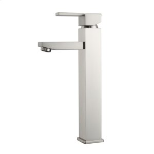 Fulton Single Handle Vessel Faucet - Brushed Nickel Product Image