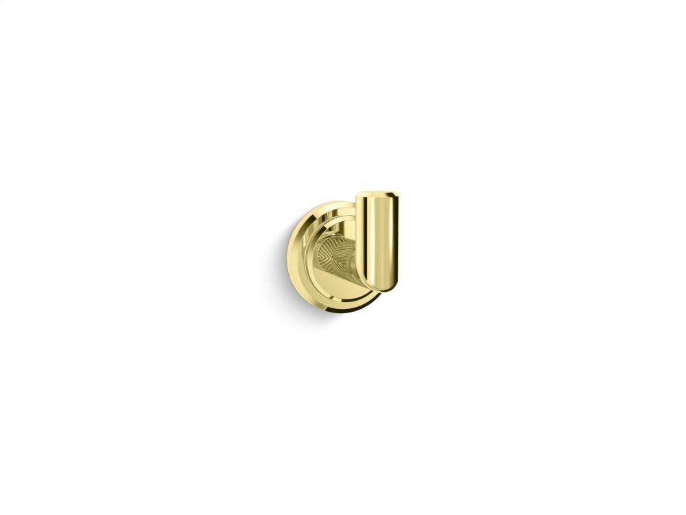 Hook - Unlacquered Brass