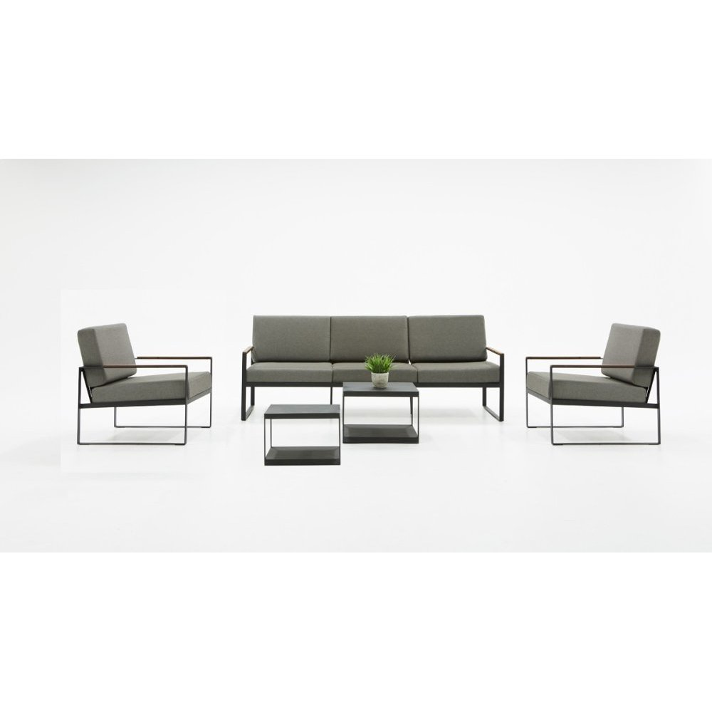 Renava Corozal Outdoor Grey Sofa Set