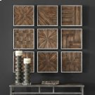 Bryndle Squares Wood Wall Decor S/9 Product Image