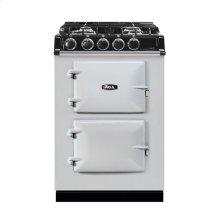 """AGA City 24"""" Electric/Natural Gas Pearl Ashes with Stainless Steel trim"""