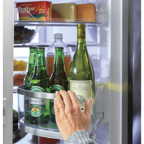 GE Profile™ 27.9 Cu. Ft. Smart 4-Door French-Door Refrigerator with Door In Door