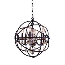 1130 Geneva Collection Pendent Lamp Dark Bronze Finish