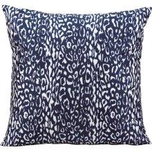 "Outdoor Pillow As524 Navy 20"" X 20"" Throw Pillow"