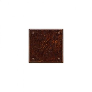Square Escutcheon - E403 Silicon Bronze Brushed Product Image
