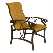 Cinnamon Bay High-Back Dining Chair
