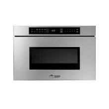 """Heritage 24"""" Microwave-In-A-Drawer, Silver Stainless Steel"""
