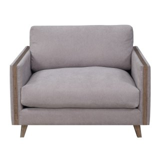 Macyn Chair w/ USB Outlet Gray