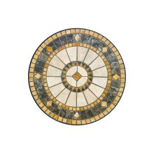 Compass Round Plant Stand Top-Set/3