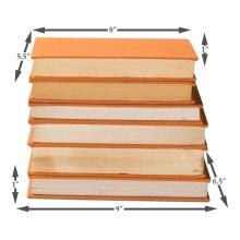 Orange Linen Books, Set Of 6