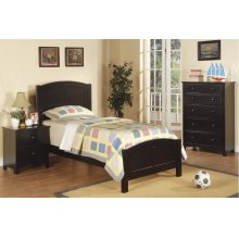 F9208 / Cat.19.p98- TWIN BED BLACK MW F4236/7