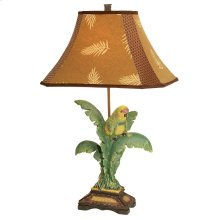 Tropical Parrot Table Lamp