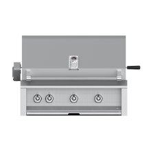 "Grill, Built-in, (2) U-burner, (1) Sear, Rotisserie, 36"" -lp"