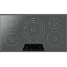 36-Inch Masterpiece® Induction Cooktop, Silver Mirror, Frameless