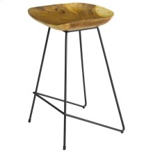 Naya Trembesi Counter Stool, Natural