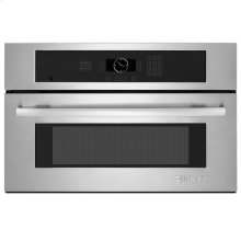 "Built-In Microwave Oven, 30"", Euro-Style Stainless Handle"