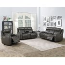 "Avila Pwr/Pwr Console Loveseat Slate 73.5"" x 39.5"" x 42"" Product Image"