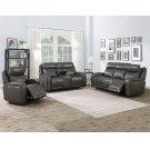 """Avila Pwr/Pwr Sofa Slate 83"""" x 39"""" x 42"""" Product Image"""