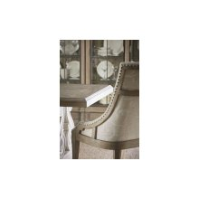 Arch Salvage Reeves Host Chair - Parchment