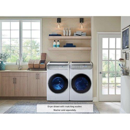 7.5 cu. ft. FlexDry Electric Dryer in White