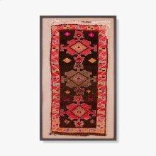 0300980018 Vintage Anatolian Rug Wall Art