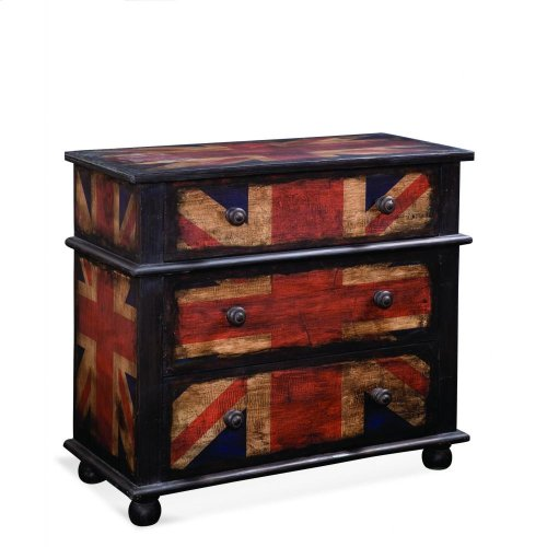 Union Jack Hall Chest