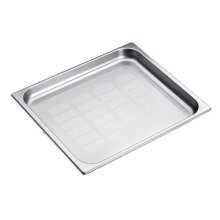 DGGL 12 Perforated steam oven pan For blanching or cooking vegetables, fish, meat and potatoes and much more
