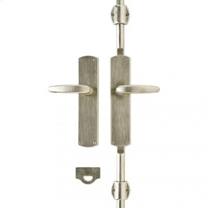 """Curved Cremone Bolt Set 2 1/2"""" x 11"""" Silicon Bronze Brushed Product Image"""